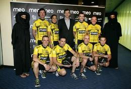 Meo Team à conquista de solidariedade no Titan Desert