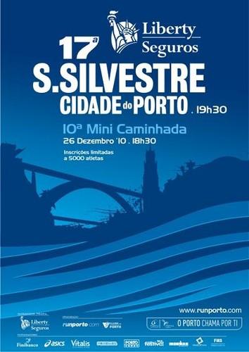 Mais uma edição da Corrida de São Silvestre na cidade-invicta...