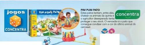 Jogo de tabuleiro Pim-Pum-Pato