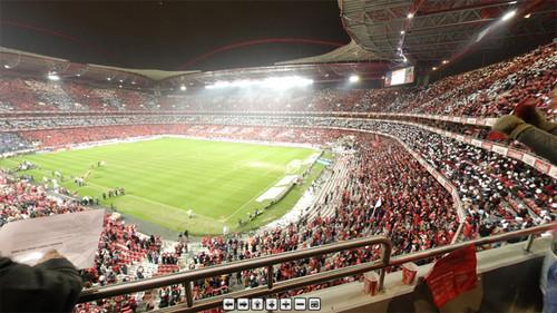 mapa estadio da luz Fotos 360º do Estádio da Luz   SAPO Mapas mapa estadio da luz