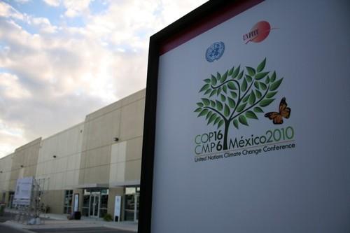 Cancunmesse, um dos dois locais onde decorre a COP16
