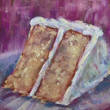 Um trabalho em pastel de Karen Margulis...