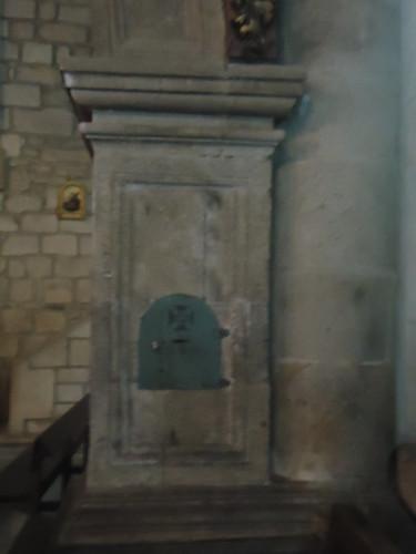 caixa de esmolas, Igreja matriz