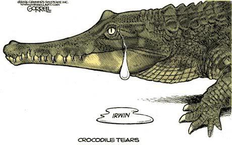 Resultado de imagem para lagrimas de crocodilo