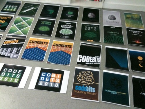 Candidate posters for Codebits