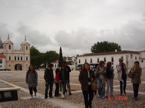 Chegada ao Palácio dos Duques de Bragança