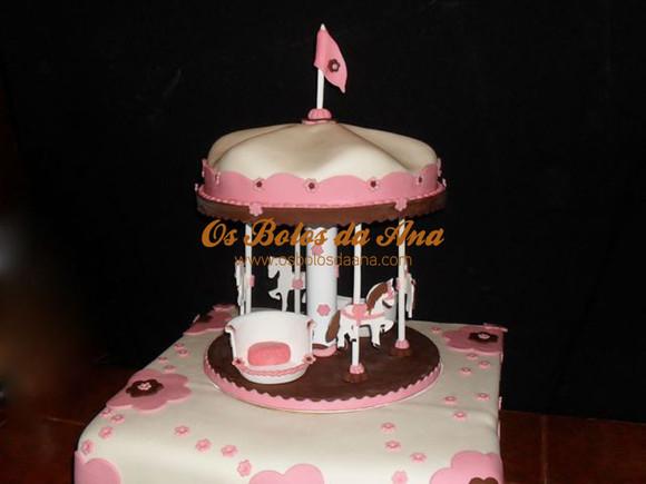 Bolo Carrocel, Carousel, carrosel, cake merry go round