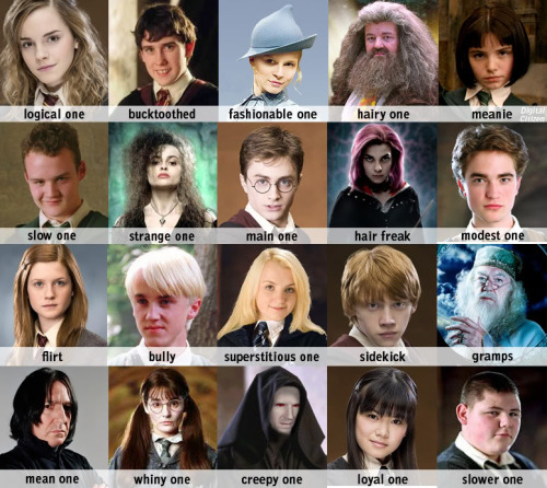 harry potter facebook tag meme identificar fotos amigos