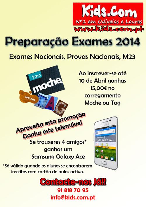 Preparacao para os exames nacionais