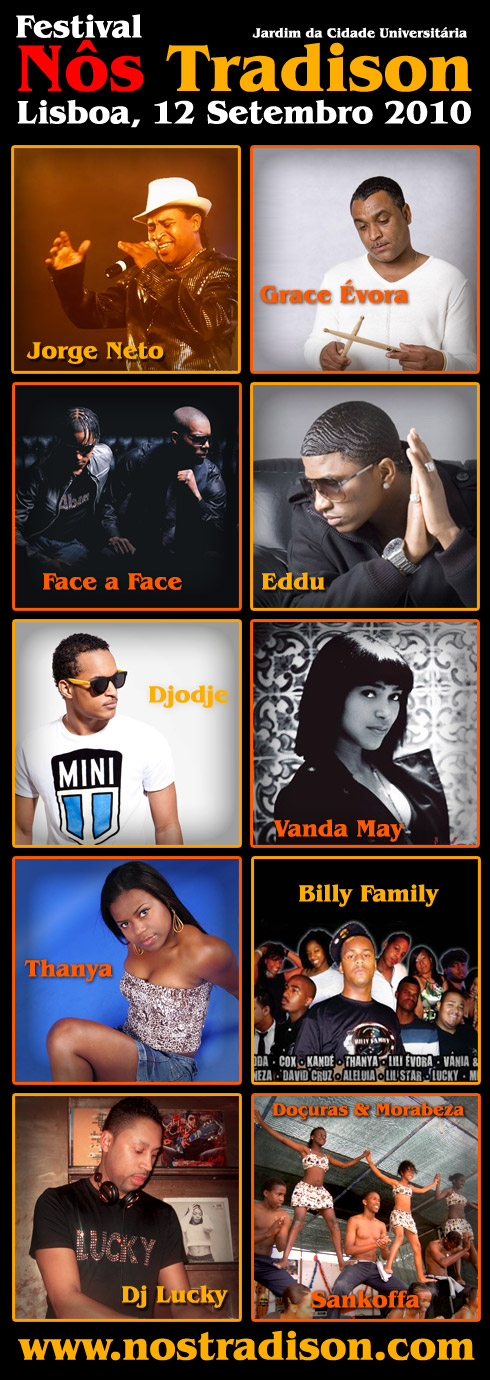 FNT 2010 - Lista de Artistas