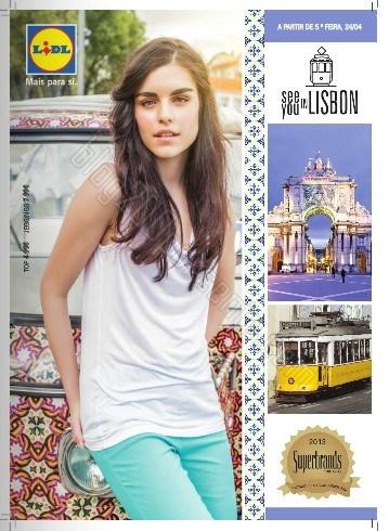 Novo folheto | LIDL | Moda a partir de 24 abril
