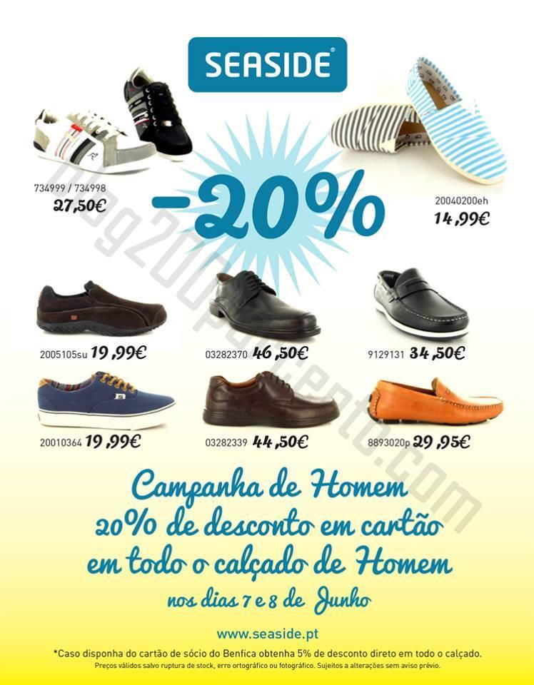 5bfe27d2d Promoção 20% de desconto SEASIDE dias 7 e 8 junho - Blog 200 ...