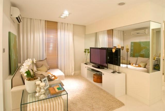 Dicas para decorar uma sala pequena decora o e ideias for Paginas para decorar casas