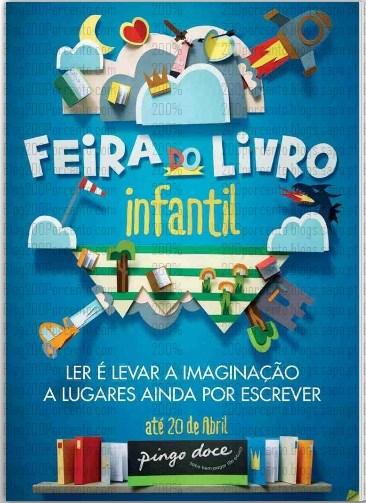 Novo Folheto   PINGO DOCE   Feira do Livro Infantil até 20 abril