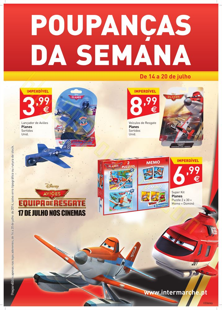 Promoção INTERMARCHÉ Brinquedos de 14 a 20 julho