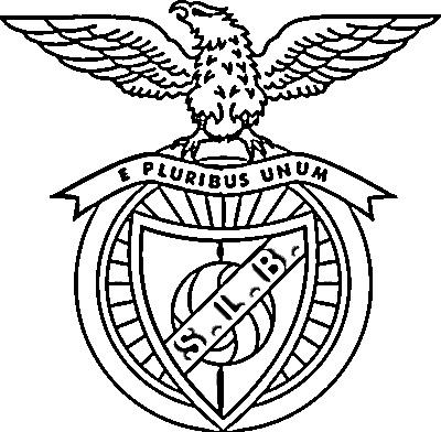 Emblema Do Benfica Para Colorir