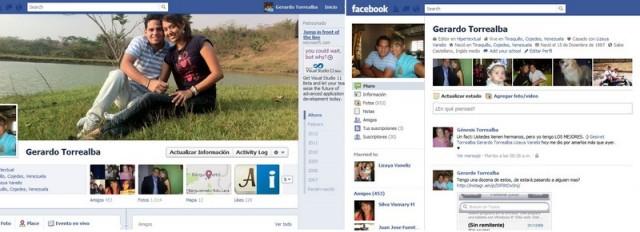 remover timeline facebook