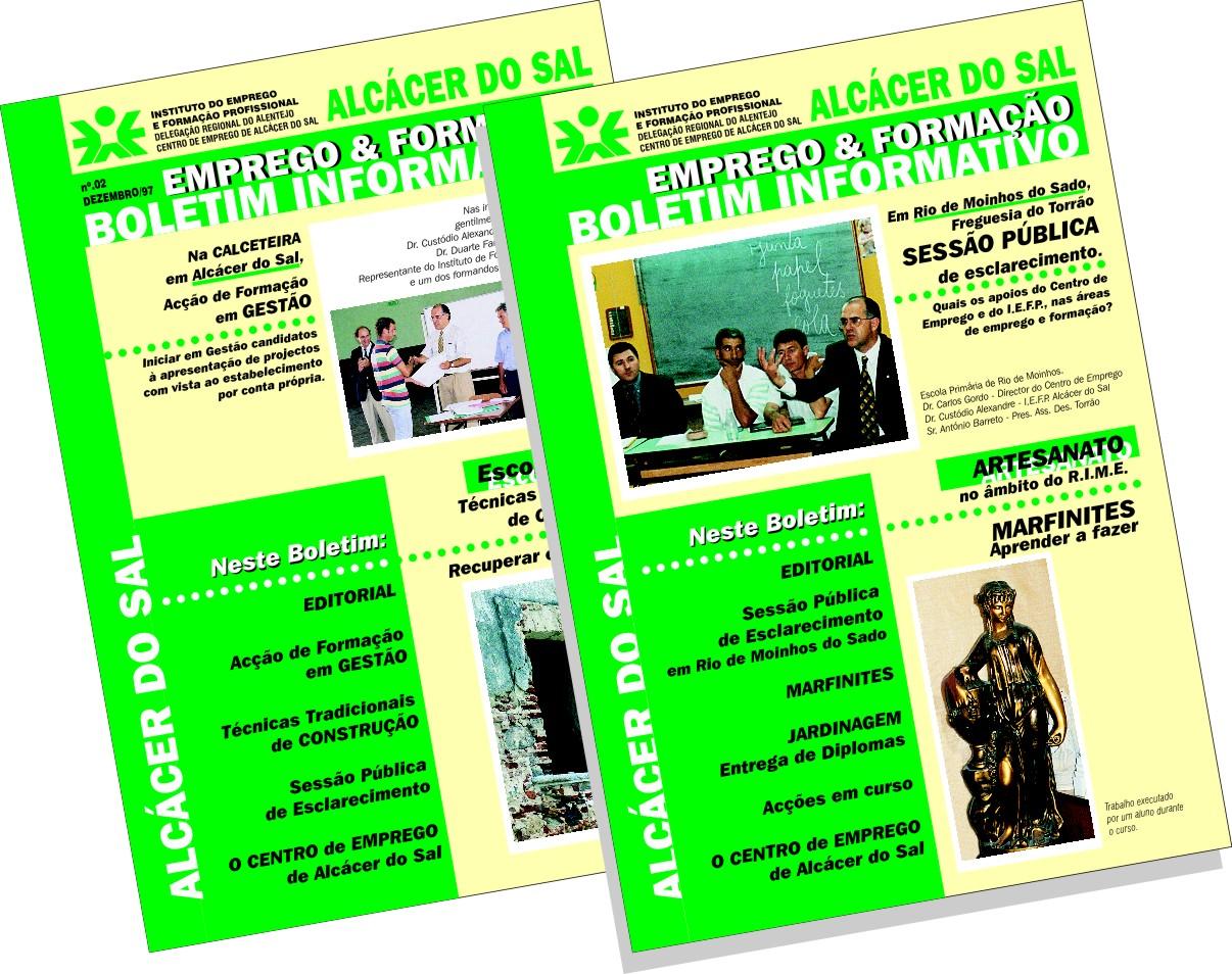 IEFP | Boletim da Delegação de Álcacer do Sal