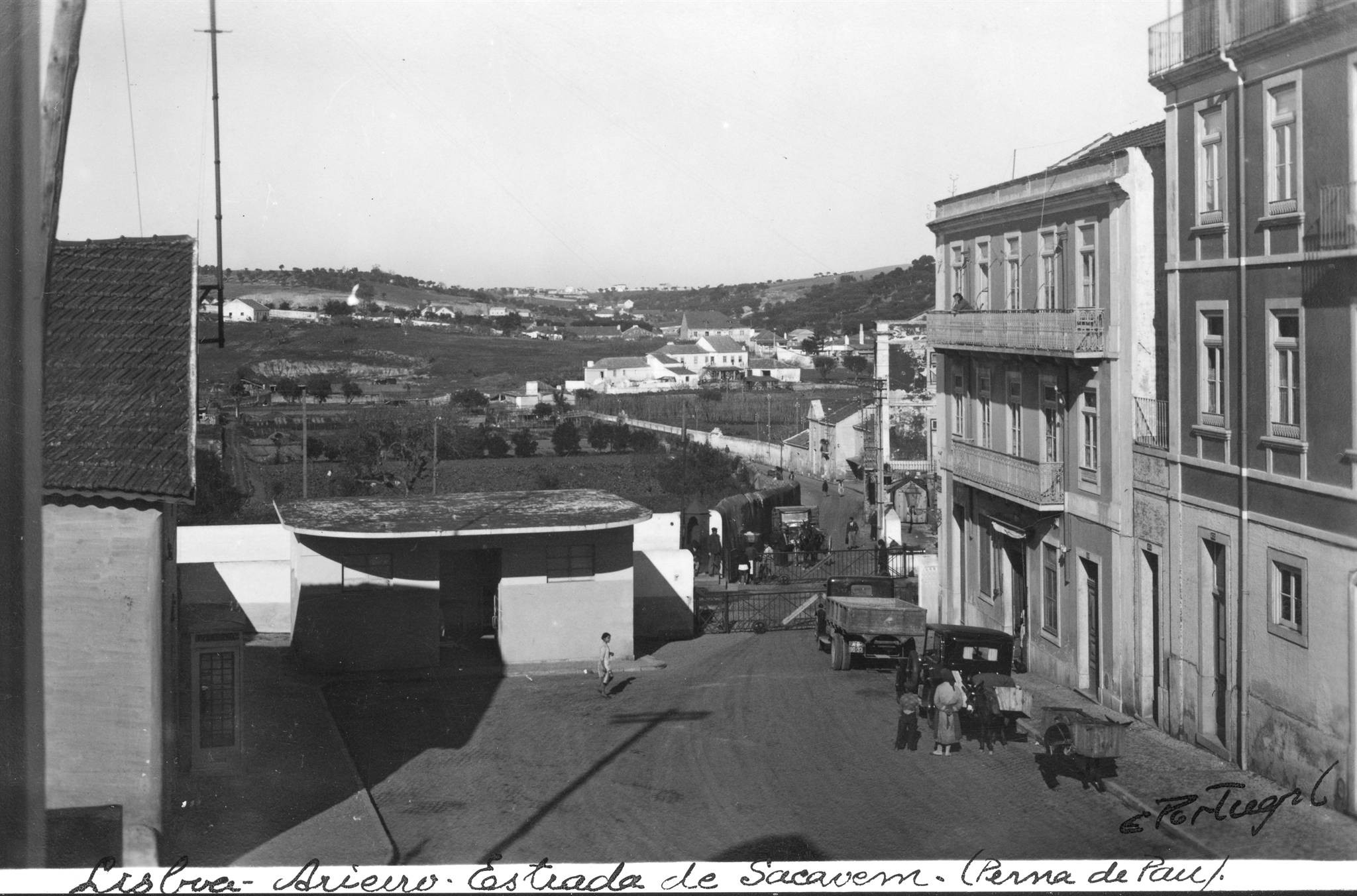 Estrada de Sacavém, Areeiro (E.Portugal, 1938)