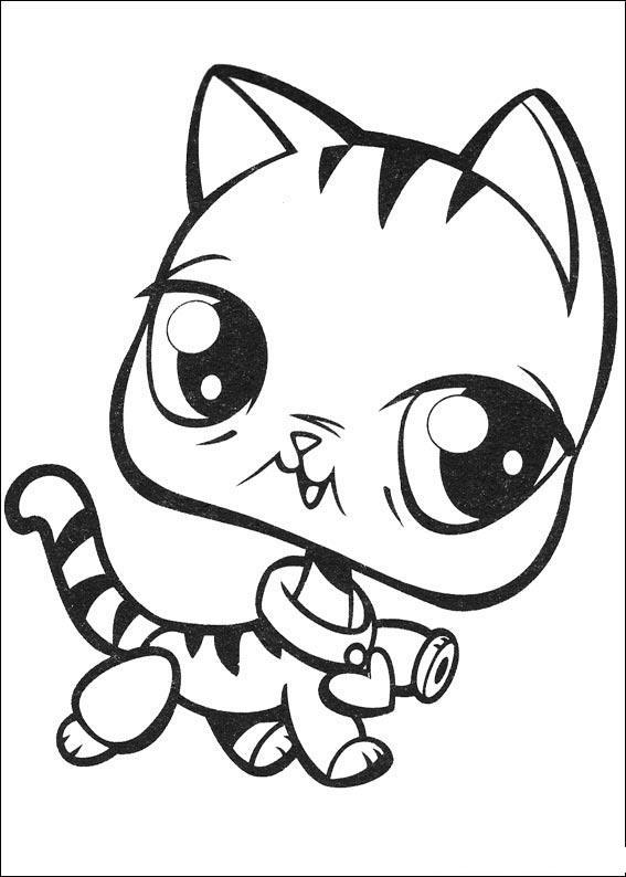 Little Pet Shop Desenhos para